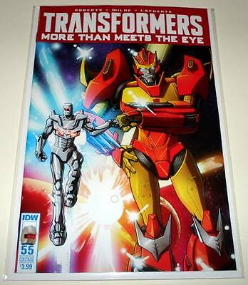 TRANSFORMERS : MORE THAN MEETS THE EYE # 55  IDW Comic  NM  ROM VARIANT COVER
