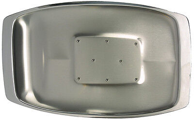 Dexam Chichester Stainless Steel Spiked Carving Tray Dish - 17810117