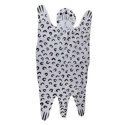 Animal Shaped Floor Mat for Baby Play Crawling Quilt Floor Cushion Leopard