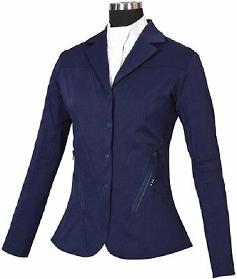 Equine Couture Fiona Show Coat Navy (Large)