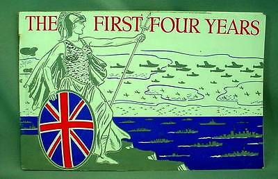 The First Four Years WW2 Britain's Four Year Record 1943 WWII Photo Booklet