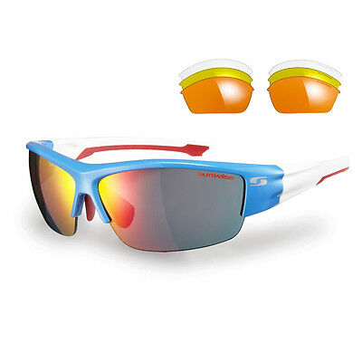 Sunwise Evenlode Blue Sunglasses With 4 Interchangeable Lenses