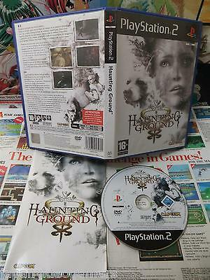 Playstation 2 PS2:Haunting Ground [TOP CAPCOM & 1ERE EDITION] Fr