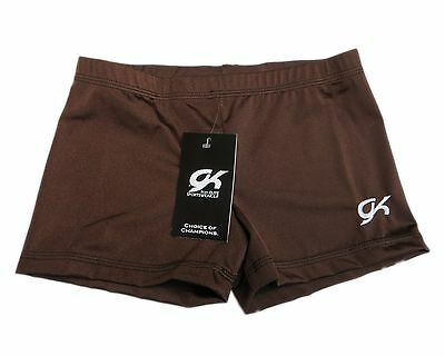 GK Elite Gymnastics Shorts - AS Adult Small NEW