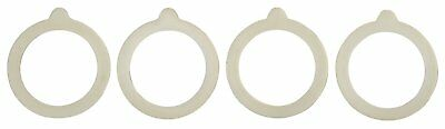 Harold Silicone Replacement Gasket Seals For Regular Mouth Canning Jars, 4-Pack