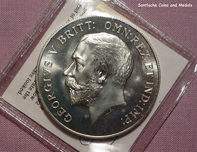 1918 KING GEORGE V PATTERN CROWN - Nickel-Silver with COA