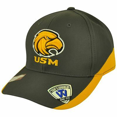 size 40 b233d 427d3 NCAA Top of the World Southern Mississippi Eagles Matchplay Flex Fit Hat Cap