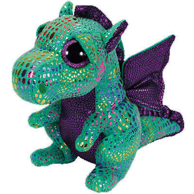 Cinder The Green Dragon    Ty Beanie Boos  Brand New