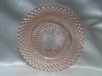 Anchor Hocking Miss America Pink Diamond Depression Glass: Saucer (s)