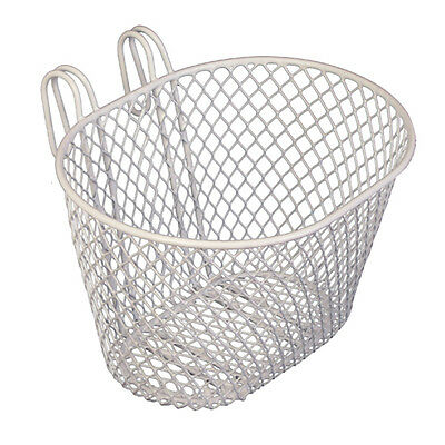 BIKECORP SMALL WIRE FRONT BASKET WHITE New