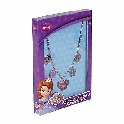 Disney Sofia the First Necklace with Charms . Girls Jewellery Set