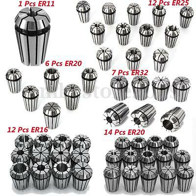 ER11 ER16 ER20 ER25 ER32 Spring Collet Sets For CNC Milling Lathe Tool Machine
