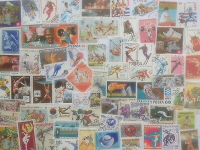 3000 Different Sports on Stamps Collection