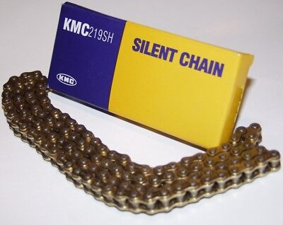 KMC Chaîne de kart Silent Chain, type 219 OR/OR, 98 maillons