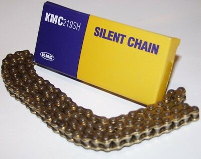 KMC Chaîne de kart Silent Chain, type 219 OR/OR, 116 maillons