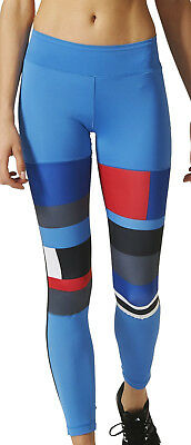 adidas WOW DNA Ladies Long Running Tights - Blue