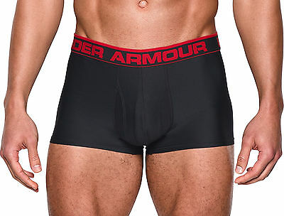 Under Armour Original 3 Inch Mens Boxer Jock - Black
