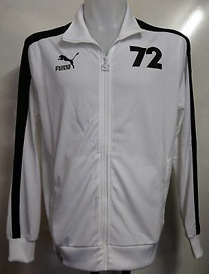Germany Archives 1972 T7 White Track Jacket By Puma Adults Size Small Brand New