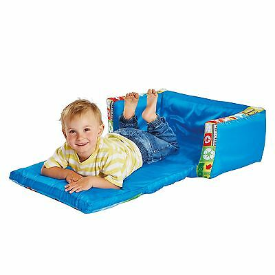 Paw Patrol Blue Kids Flip Out Sofa Inflatable Extend Seat For Flip Out Lounger