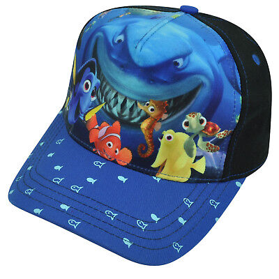 Disney Finding Nemo Pixar Movie Youth Boy Hat Cap Blue Fish Character