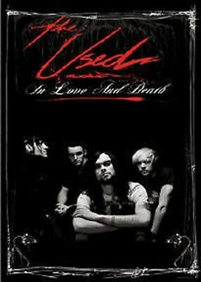 USED ~ IN LOVE AND DEATH 22x34 POSTER THE NEW/ROLLED!