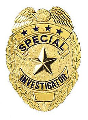 Mini Special Investigator Badge