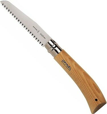 """Opinel No.12 Blister Pack Folding Saw Knife Beechwood Handle 12 cm 4.75"""" 000658"""