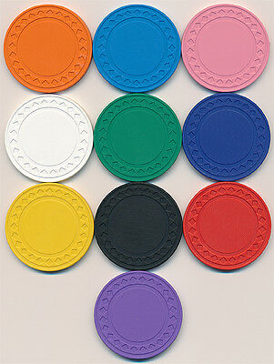 50 DIAMOND PLAIN 8.5gr POKER CHIPS Set CHOOSE FROM 10 DIFFERENT COLORS *