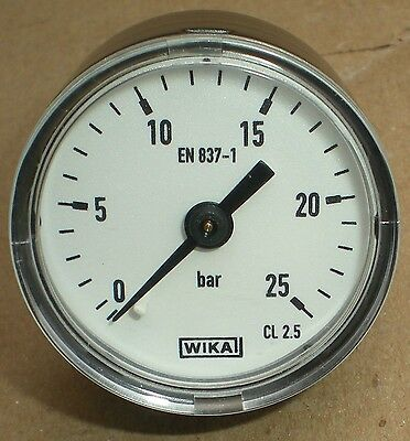 Franke Resupply Systems 1552668 40Mm Manometer 0-25 Bar New Wika