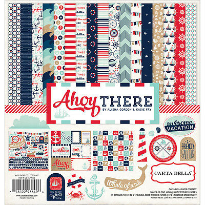 """""""Carta Bella Collection Kit 12""""""""X12""""""""-Ahoy There"""""""