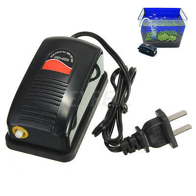 Efficient Adjustable Aquarium Oxygen Fish Air Pump Tank Energy Hot