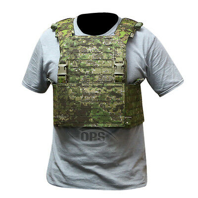 Ops / Ur-Tactical Advanced Modular Plate Carrier In Pencott Greenzone Laser Cut