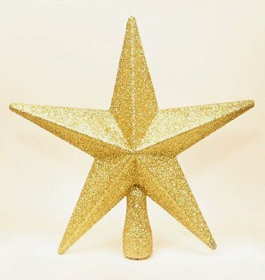 Premier christmas decoration 200mm filigree glitter tree top star silver picclick uk - Estrella arbol de navidad ...