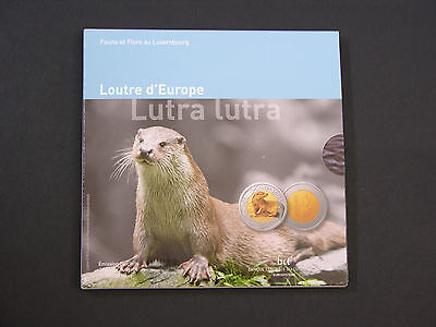 Luxemburg 5 Euro 2011 lutra lutra in pp