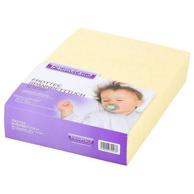 Träumeland Fitted Sheet Terry for Changing Mat 75x85 cm Yellow