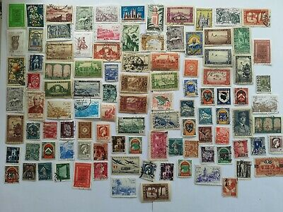 1000 Different Algeria Stamp Collection