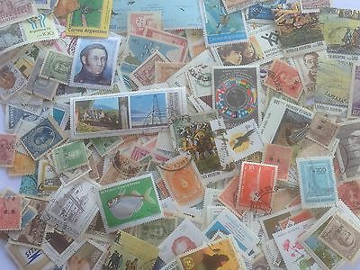 2500 Different Argentina Stamp Collection