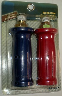 Gladhand Air Hose Disconnect Grips Red & Blue Saves Repairs Broken Air Lines New