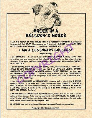 Rules In A Bulldog's House
