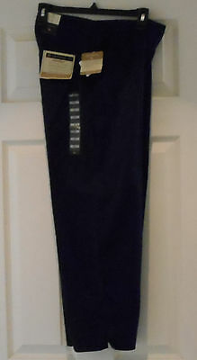 LADIES CROP Golf Pants ANTIGUA PERFECT COMFORT STRETCH SOFT Navy Blue Size 6 NWT