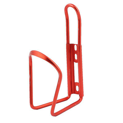 Cycling Bike Bicycle Adjustable Water Bottle Rack Cage Holder Red