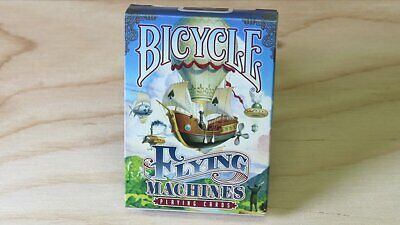 Bicycle Flying Machines Playing Cards Poker Spielkarten