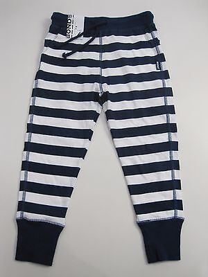 Bonds Kids Boys Girls Striped Trackie Track Pants sizes 3 4 5 6 7  Navy White