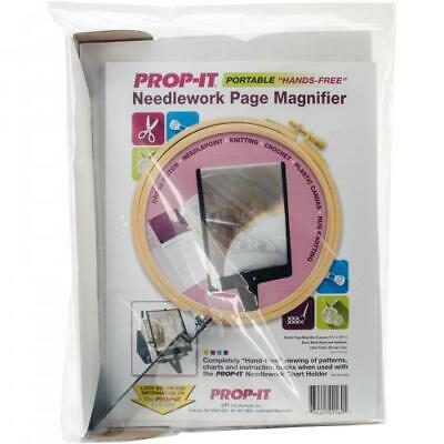 PROP-IT Hands-Free Page Magnifier