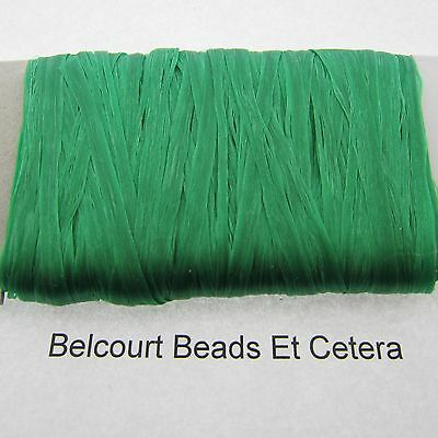 Emerald Green Sinew 20 Yards (60') Dream Catchers, Leather Bead Crafts 70lb Test