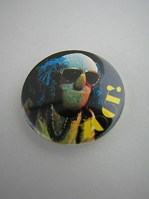 Zoot Badge Button Pinback Pin Muppets Electric Mayhem Band Vintage