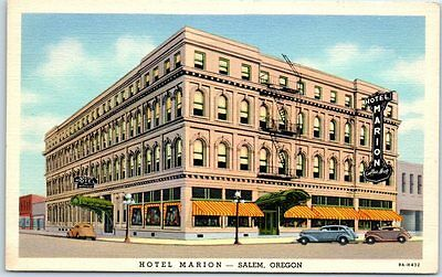 marion hotel salem oregon 12365 postmark 1917 cad picclick ca. Black Bedroom Furniture Sets. Home Design Ideas