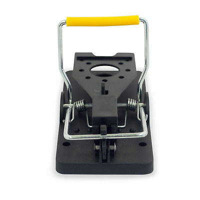 Rat Trap Heavy Duty Snap-E Mouse Trap-Easy Set Catching Catcher Home Yard Garden
