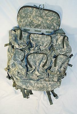 London Bridge 10 Pocket Rucksack Large Backpack ACU Camo Camouflage Recci Ruck