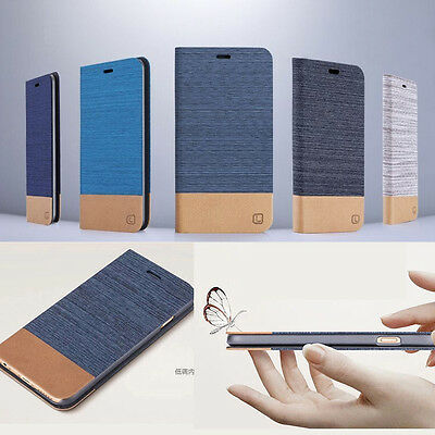Pouch Leather Flip For Samsung Galaxy Hybrid Stand Wallet Case Cover Slim